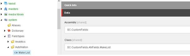 How to use composite custom fields in Sitecore content editor?